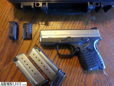 For Sale: Springfield XDS 9mm 2 tone