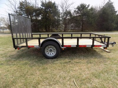 2017 Other 77x12 Utility Tailgate Trailer Utility Chanute, KS