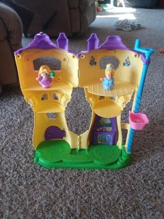 Fisher price little people rapunzel tower
