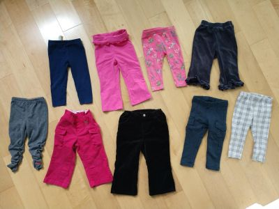 Toddler girls pants and leggings size 18-24 months