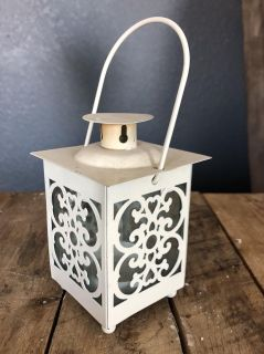Small Antique Candle Holder