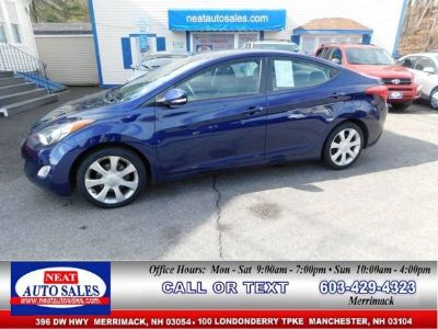 2012 Hyundai Elantra Limited 4dr Sedan 6A