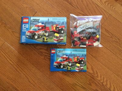 Lego 7942 - Off-road fire rescue complete set
