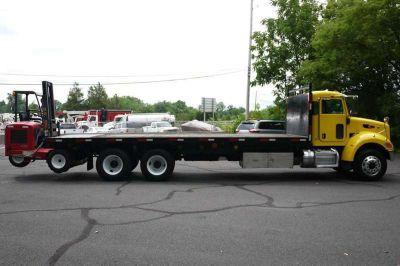 9018 - 2008 Peterbilt Pb340; 2005 Moffett M50 Piggyback Forklift; 2.5 Ton