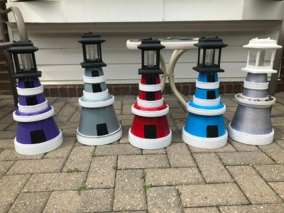 Custom made lighthouses