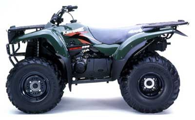 2001 Kawasaki Prairie 300 4X4 Utility ATVs Johnson City, TN