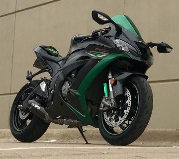 2016 Kawasaki Ninja ZX-10R SuperSport Motorcycles Plano, TX
