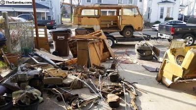 1972 VW Bus Parts