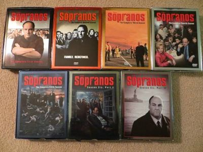 The Sopranos  - Complete Series on DVD, Seasons 1-6