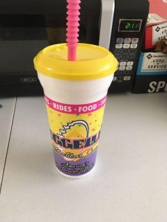 Fresh lemonade cup from the Volusia county fair 2018