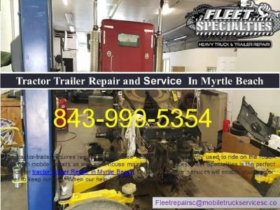 Utilize the Facility Tractor Trailer Service in Myrtle Beach