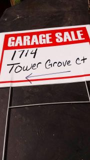 Garage sale today only