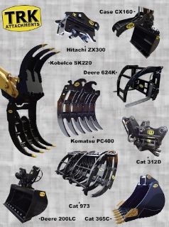 Excavator Attachments For Sales