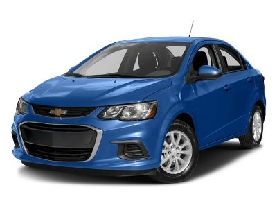 2017 Chevrolet Sonic LTZ (Nightfall Gray Metallic)