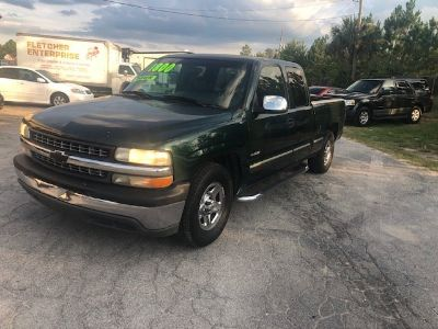 2002 Chevrolet Silverado 1500 Base (Green (Dark))