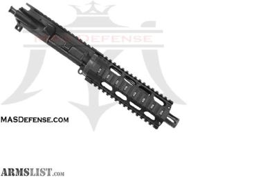 "For Sale: MAS DEFENSE 7.5"" 5.56 / .223 BARRELED UPPER - OMEGA 7.2"" SERIES - BLEM, AR 15 AR15, 5.56,"