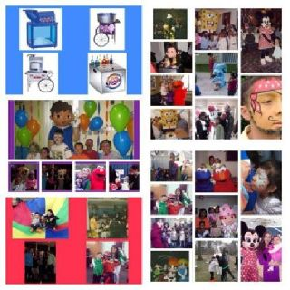 children Birthday party , Characters, clowns, face painter, magic show