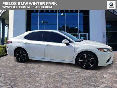 Used 2018 Toyota Camry 4dr Car