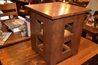 Arts and Crafts Mission End table / Nightstand ...