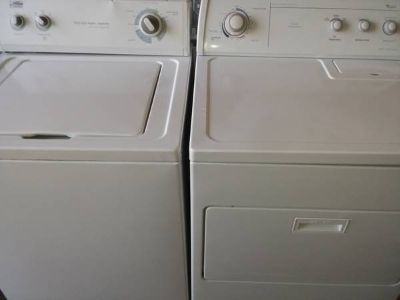 Estate Washer Whirlpool Dryer Set