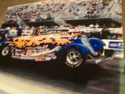 Jerry Haas 33 Ford street roadster