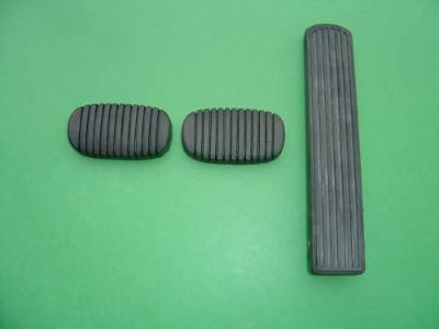 Sell 1949-1950-1951-1952 CHEVROLET GAS PEDAL & BRAKE & CLUTCH PEDAL PADS motorcycle in Ross, Ohio, US, for US $29.99
