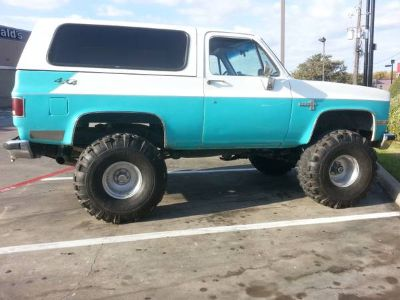 84 K5 Chevy Blazer...Monster Daily Driver....40 Super Swers