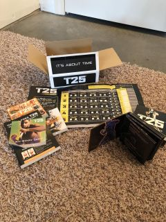 T25 workout DVDs
