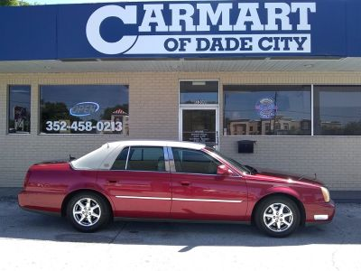2005 Cadillac DeVille Base (Red)