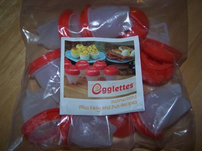Eggletts Set of 6 As seen on TV. With Instruction Book. $6