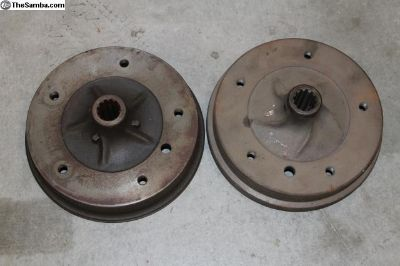 New 1968-70 Bus Rear Brake Drum