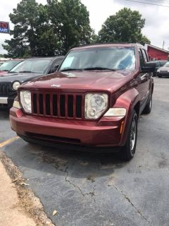 2008 Jeep Liberty Sport (Red)