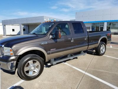 2007 Ford F-350 SuperDuty Crew Cab Lariat, Single-Rear Wheel, Long Bed, 4WD