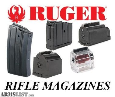 For Sale/Trade: Ruger Magazines Mini 14 Ranch Rifle 223 556 Mini14 BX25 .223 5.56 10/22 10-22 22LR 22