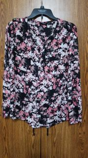 Apt 9 L/s that can convert to 3/4 sleeve blouse