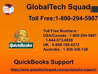 Quickbooks Tech Support Phone Number| Toll Free 1-800-294-5907