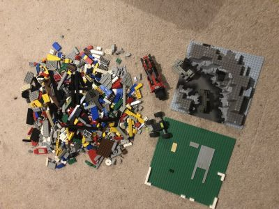Classic LEGOS LOT- 4 pounds