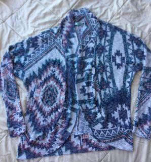 Maurices light cardigan, size Large, super cute!!!