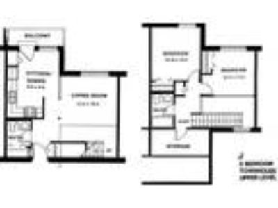 Capitol Centre Court Apartments - Two BR townhouse