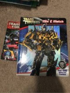 Transformers Mix and Match book