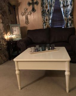 Beautiful Off-White Coffee Table