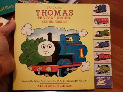 Thomas the train and friends hard cover book