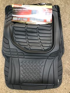 New car mats, best for SUVs, vans, and trucks