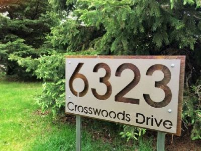 Yard Address Sign - Address America