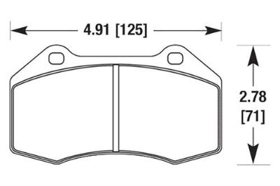 Find HAWK HB548N.590 - 08-10 Chevy Cobalt Front Brake Pads motorcycle in Chino, California, US, for US $192.19