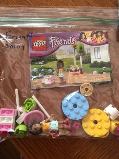 Lego friends balloon party