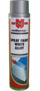 Wurth White Alloy Wheel Paint