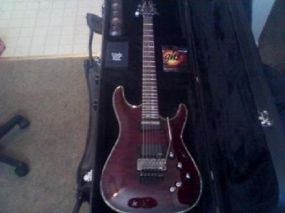 $800 OBO Schecter C1 Hellraiser W/Floyd Rose Bridge _new-