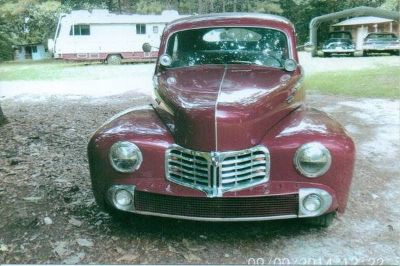 1947 Lincoln Deluxe Coupe