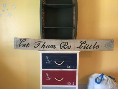 Handmade Let Them Be Little Wooden Sign